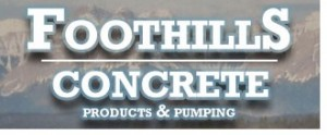 foothills concrete